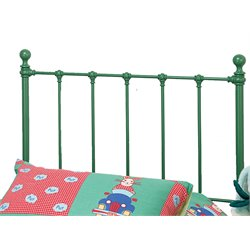 Hillsdale Molly Twin Spindle Headboard in Green