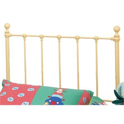 Hillsdale Molly Twin Spindle Headboard in Yellow