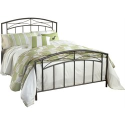 Hillsdale Morris Queen Spindle Bed in Magnesium Pewter