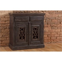 Hillsdale Morrisa Buffet in Distressed Black