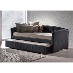 Hillsdale Napoli Daybed with Trundle in Black