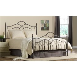 Hillsdale Oklahoma King Poster Bed in Bronze