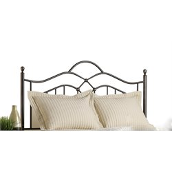 Hillsdale Oklahoma Full Queen Spindle Headboard in Bronze