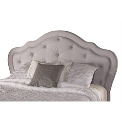 Hillsdale Park Place Upholstered Queen Panel Headboard in Beige