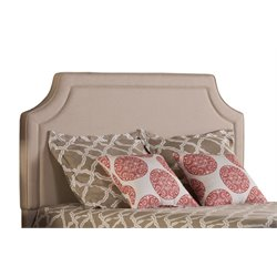 Hillsdale Parker Upholstered King Panel Headboard in Beige