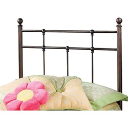 Hillsdale Providence Twin Spindle Headboard in Antique Bronze