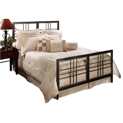 Hillsdale Tiburon King Spindle Bed in Magnesium Pewter