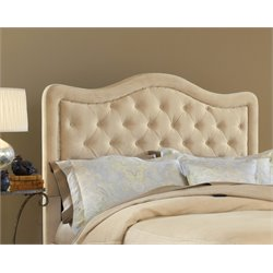 Hillsdale Trieste Upholstered Queen Panel Headboard in Beige