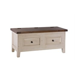 Hillsdale Tuscan Retreat Blanket Chest in Country White