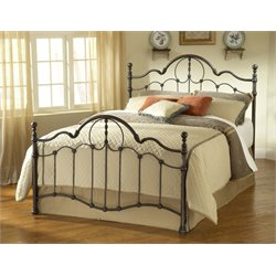 Hillsdale Venetian Full Poster Bed in Old Bronze