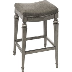 Hillsdale Vetrina Bar Stool in Weathered Gray