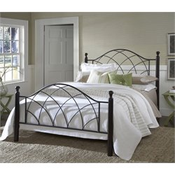 Vista Poster Bed in Silver