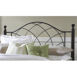 Hillsdale Vista Twin Spindle Headboard in Black
