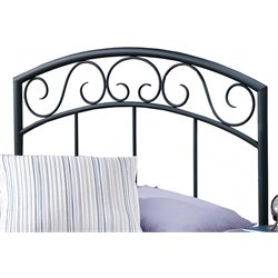 Hillsdale Wendell Twin Spindle Headboard in Textured Black