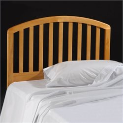 Hillsdale Carolina Country Slat Headboard in Pine - Twin