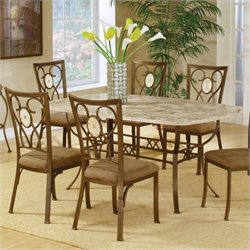 Hillsdale Brookside Rectangular Dining Table Set 2