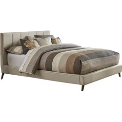 Hillsdale Aussie Upholstered King Bed in Fog
