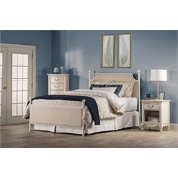 Hillsdale McArthur Full Panel Bed in Oatmeal