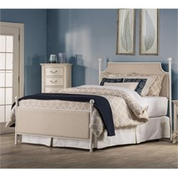 Hillsdale McArthur Panel Bed in Oatmeal