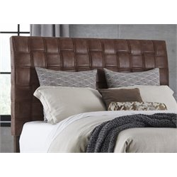 Hillsdale Riley Upholstered Queen Headboard in Light Brown