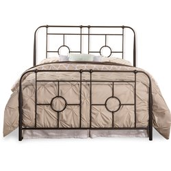 Hillsdale Trenton Metal Bed in Black Sparkle no bed frame