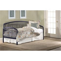 Hillsdale Carolina Daybed with Suspension Deck and Trundle in Navy