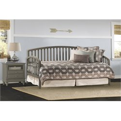 Hillsdale Carolina Daybed with Suspension Deck and Trundle in Stone