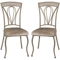 Hillsdale Napier Dining Chair in Aged Ivory (Set of 2)