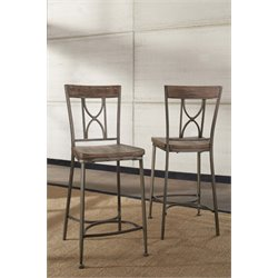 Hillsdale Paddock Counter Stool in Brown-Gray