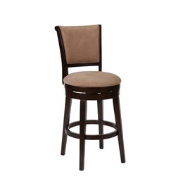 Hillsdale Armstrong Swivel Stool in Autumn Wood