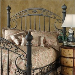 Hillsdale Chesapeake Spindle Headboard in Black - Queen