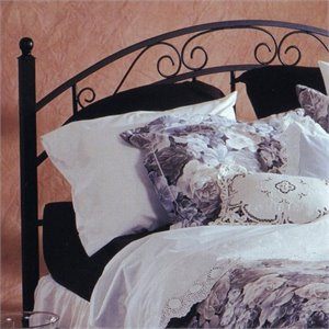 Hillsdale Willow Spindle Headboard in Black