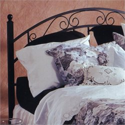 Hillsdale Willow Spindle Headboard in Black - Twin