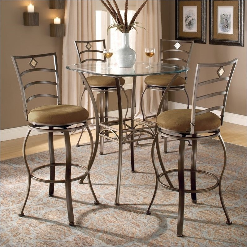 Hillsdale Brookside 5 Piece Bar Height Bistro Table Set  : 154979 L from www.cymax.com size 798 x 798 jpeg 186kB