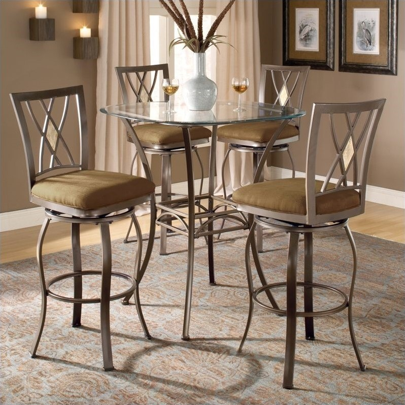 Hillsdale Brookside 5 Piece Bar Height Bistro Table Set  : 154981 L from www.cymax.com size 798 x 798 jpeg 187kB