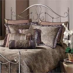 Hillsdale Doheny Spindle Headboard in Antique Pewter