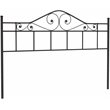 Hillsdale Harrison King Size Spindle Headboard in Black