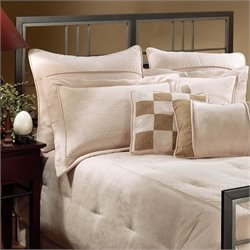 Hillsdale Tiburon Spindle Headboard in Magnesium Pewter - Twin