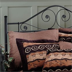 Hillsdale Harrison Spindle Headboard in Black - Full/Queen