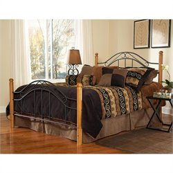 Hillsdale Winsloh Poster Bed (Headboard with Metal Frame) - Twin