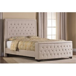 Hillsdale Kaylie Upholstered Storage Panel Bed with Rails