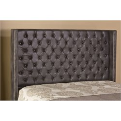 Hillsdale Mayfield Upholstered King Headboard with Rails