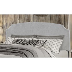 Hillsdale Desi Upholstered Panel Headboard in Gray