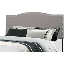 Hillsdale Kiley Upholstered Panel Headboard in Glacier Gray