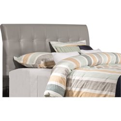Hillsdale Lusso Faux Leather Upholstered Panel Headboard w/o Frame