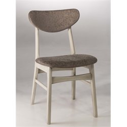 Hillsdale Bronx Dining Side Chair in Weathered Gray (Set of 2)