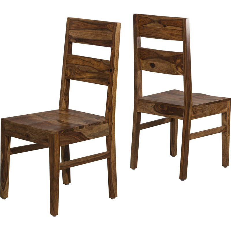 Hillsdale Emerson Dining Side Chair in Natural (Set of 2)