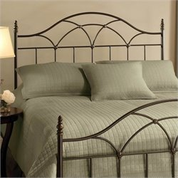 Hillsdale Aria Spindle Headboard in Brown - Full/Queen