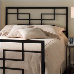 Hillsdale Terrace Metal Headboard in Black Finish - Full/Queen