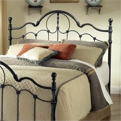 Hillsdale Venetian Metal Headboard in Old Bronze